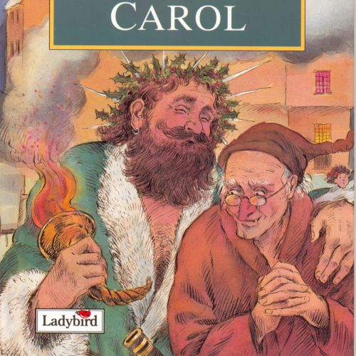 Magazine cover design for Christmas carol