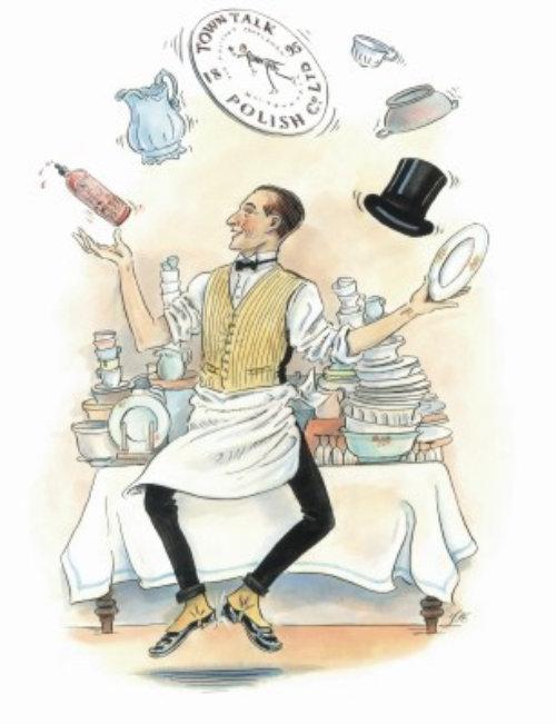 Cozinhar brincando com boné e relógio ilustração