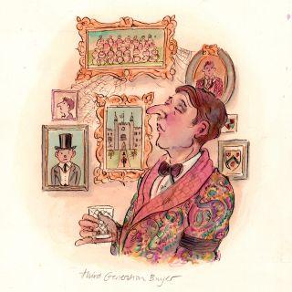 John Holder Cartoon & Humour