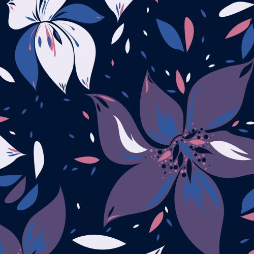 Flower graphic illustration
