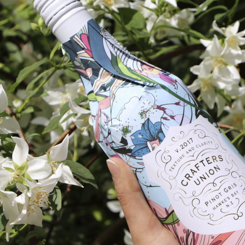 Arte gráfica na garrafa