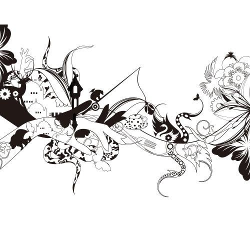 Arte gráfica de padrão misto
