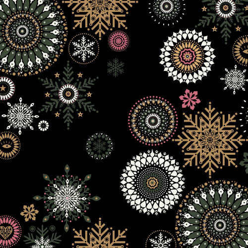 Decorative Pattern flakes