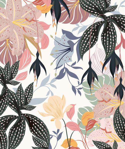 Folhas da natureza gráfica