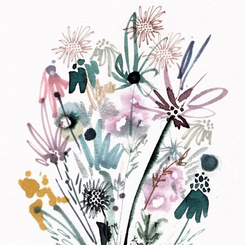 Nadia Flower Decorative illustrator.  New Zealand