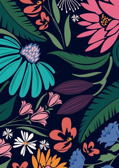 Folhas coloridas gráficas