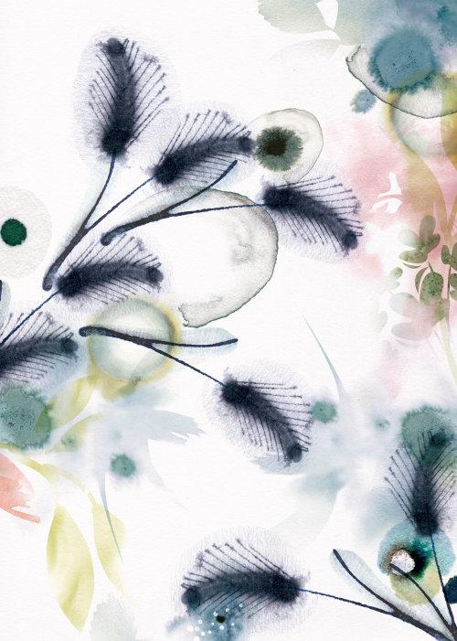Arte gráfica de flores