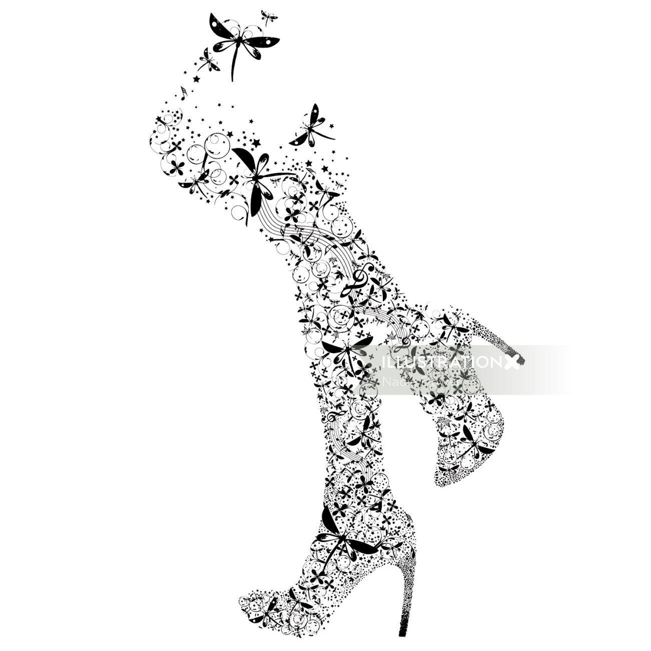 figurative illustration by Nadia Flower