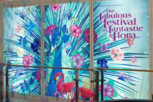 Animais Pavão com letras para festival