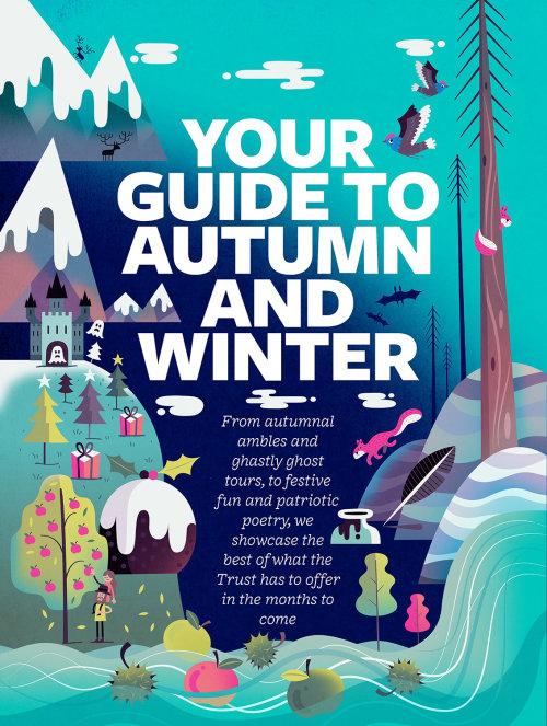 Gráfico Seu guia para o outono e inverno
