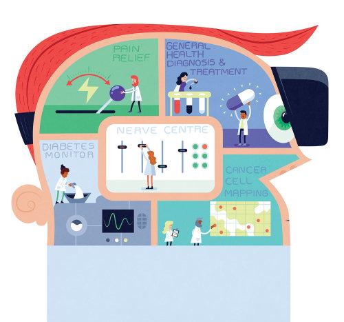 Infográfico educacional de saúde