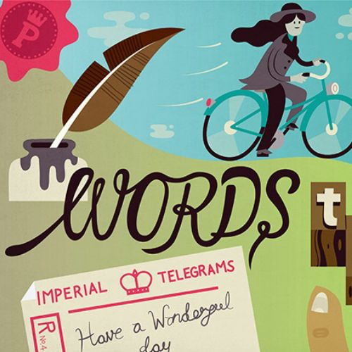infographic illustration of words they are