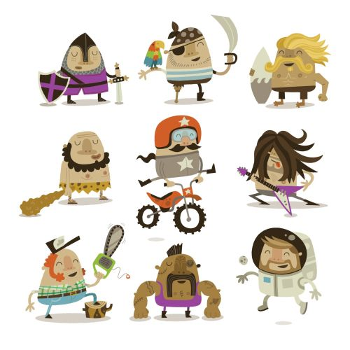 People character icons