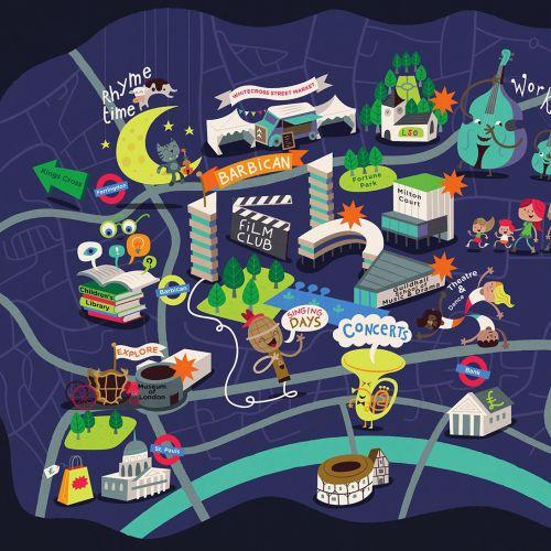 Tim Bradford Mapas