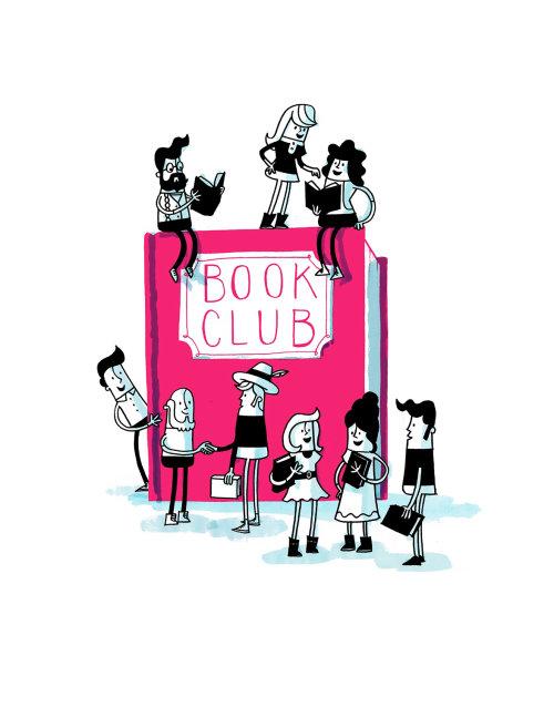 Ilustração de personagens jogando no livro