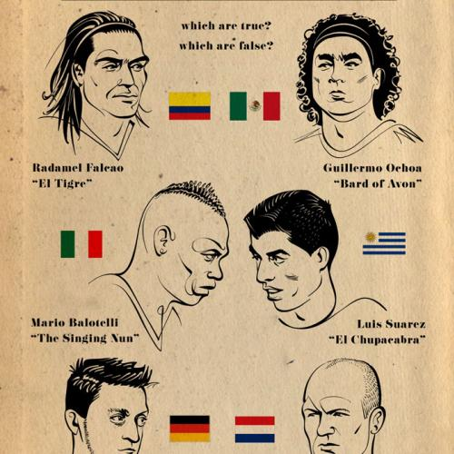World Cup Nicknames