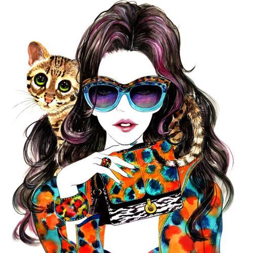 Illustrator Profile - Sunny Gu