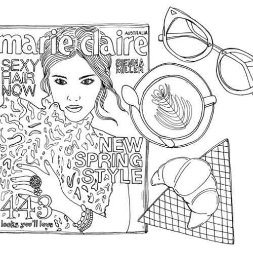 Colour with Marie Claire Australia