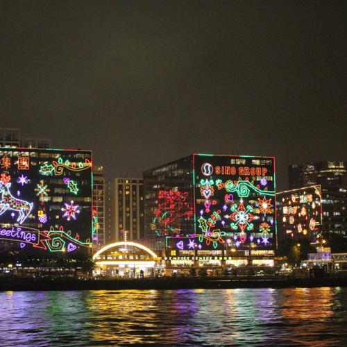Hong Kong Christmas Display