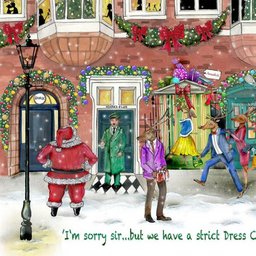 Código de vestuário no Natal