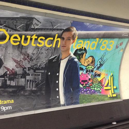 INSIDE OUT: The Deutschland 83 Promo Poster