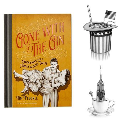 DENTRO PARA FORA: Ido com as receitas do cocktail de Gin