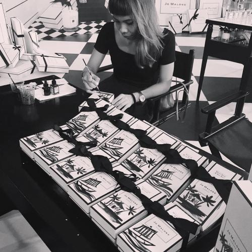 Live Drawing for Jo Malone London