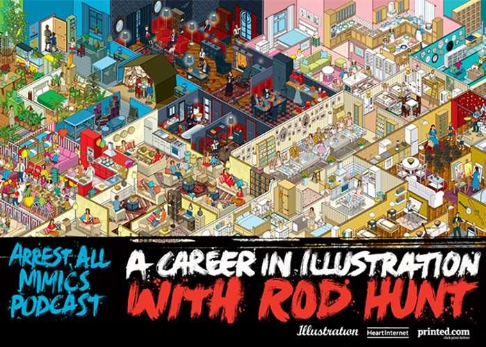 Podcast Arrest All Mimics: avec Rod Hunt