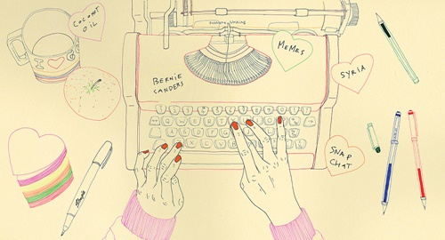 An illustration of The Nuts And Bolts of Writing for  Queensland Magazine