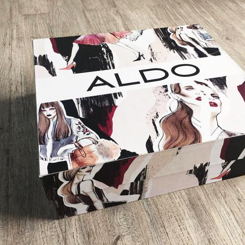 Aldo Illustrated Shoe Boxes