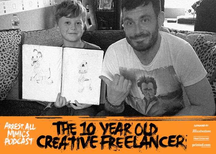 逮捕所有模仿者播客:10岁的自由职业者Liam Gall