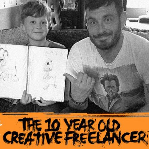 Arrest All Mimics Podcast: freelancer de 10 anos Liam Gall