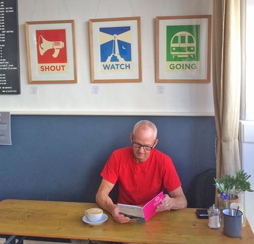 Meet Willie Ryan in the Coastal Currents an open studio in UK