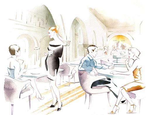 Katharine Asher visualises the refurbishment of St Marks Church in Park Lane, London