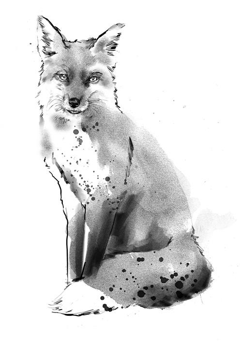 Dog illustration by Tracy Turnbull