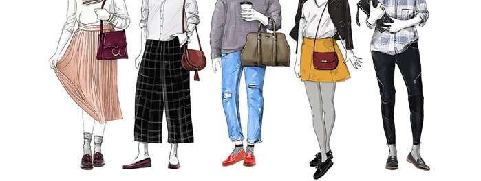 Trend shoes illustration for InStyle