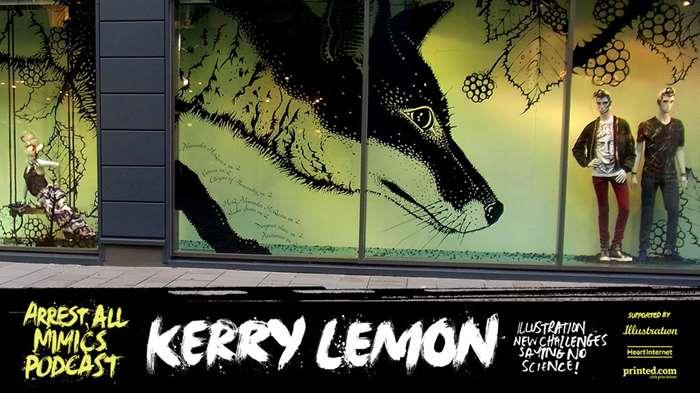Podcast Arrest All Mimics: Kerry Lemon