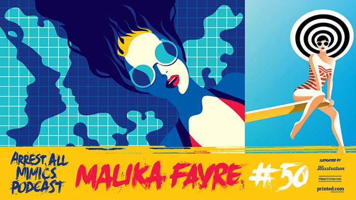 逮捕所有模仿者播客:Malika Favre的旅程