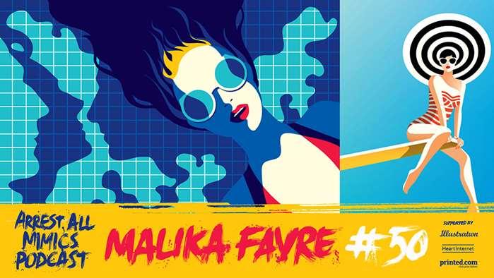 Podcast Arrest All Mimics: Le voyage de Malika Favre