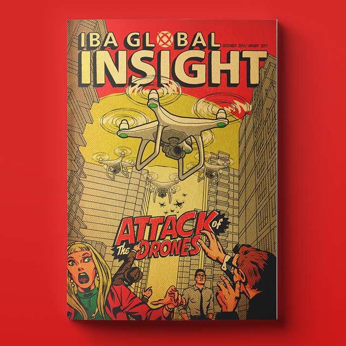 Illustration for IBA Global Magazine