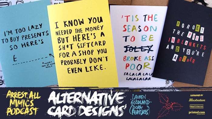 Arrest All Mimics Podcast: Alternative Card Designs