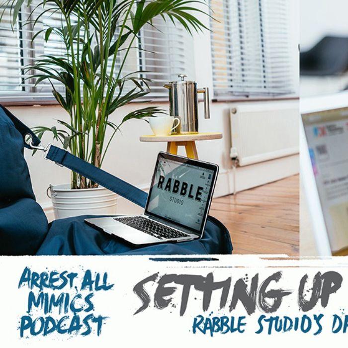 Arrest All Mimics Podcast: Setting up a Studio