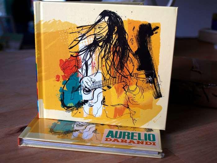 Spirited artwork for Aurelio Martinez