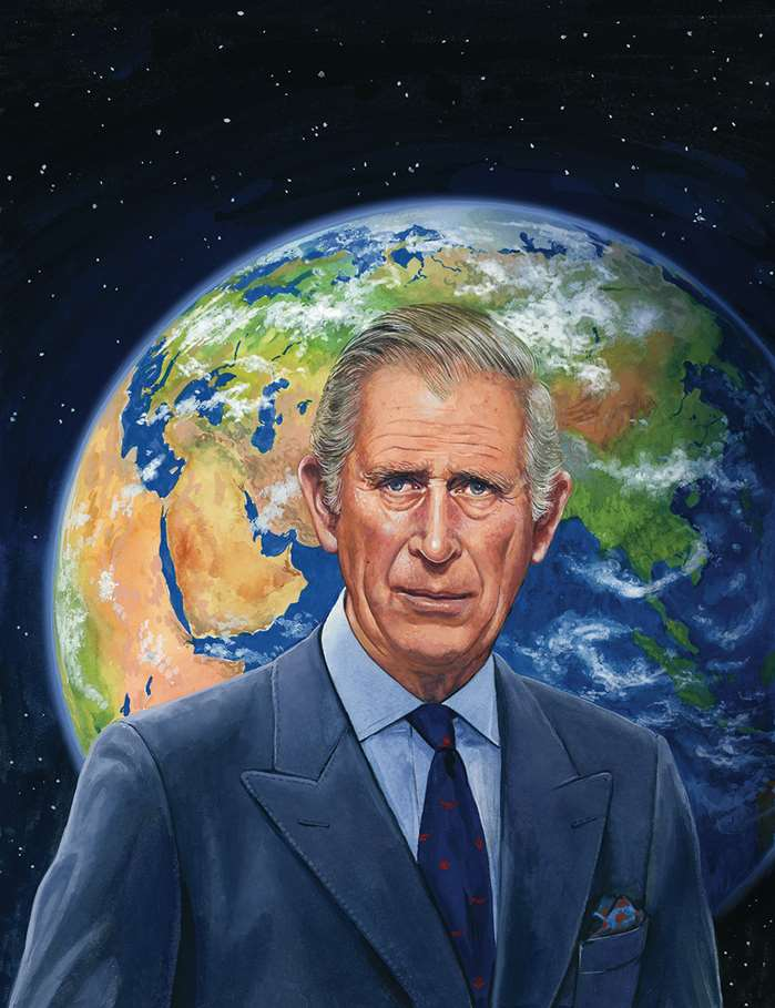 Prince Charles talks of climate change