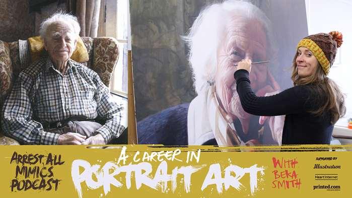 Arrest All Mimics Podcast: Portrait Art
