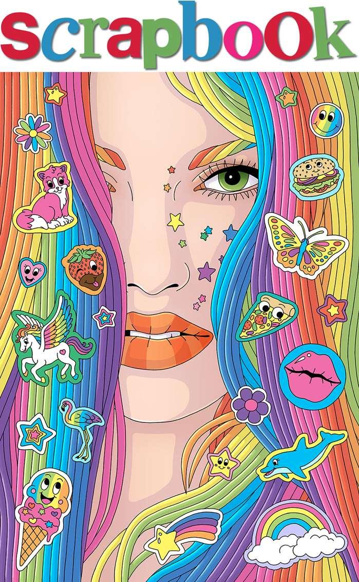 Illustration of Fionna Fernandes' SCRAPBOOK