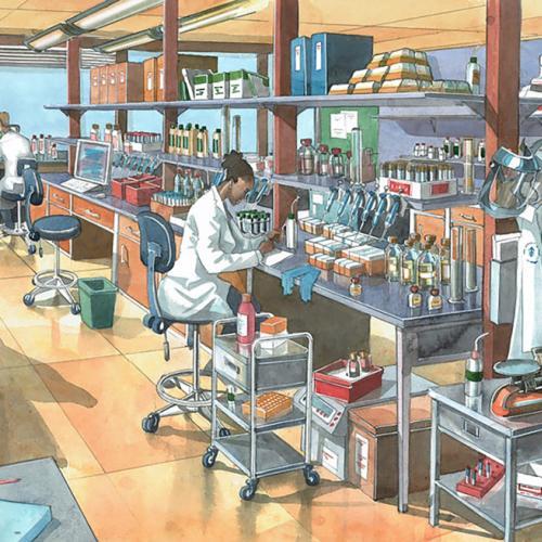 A Modern Laboratory