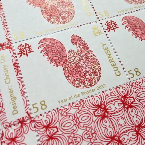 Rooster Stamps