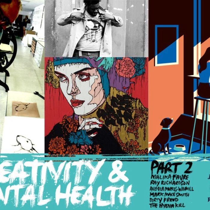 Arrest All Mimics Podcast: Part 2 - Mental Health & Creativity