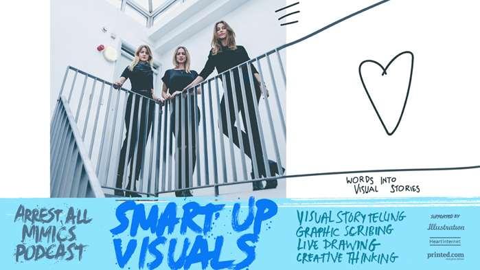 Podcast Arrest All Mimics: visuels Smartup